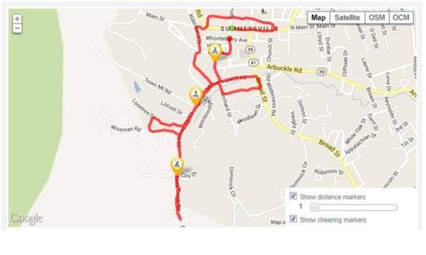 summersville 5k map