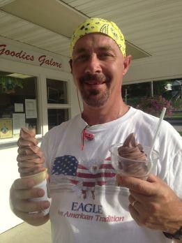 tony and ice cream